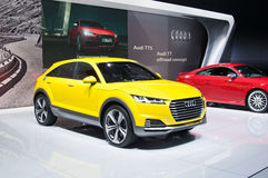 Audi TT offroad concept Stock Photos