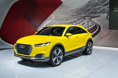 Audi TT offroad concept Royalty Free Stock Photos