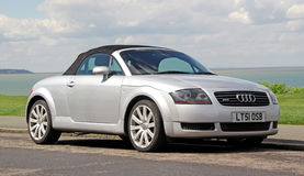 Audi tt quattro convertible car Stock Images