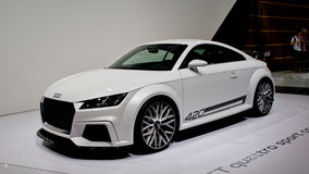 Audi TT Quattro Sport Geneva 2014 Stock Photo