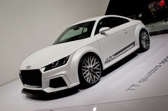 Audi TT Quattro Sport Geneva 2014 Royalty Free Stock Photography