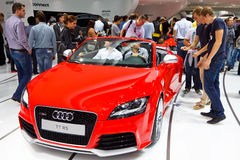 Audi TT RS Stock Photos