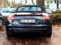 Audi TT rs - Germany royalty free stock photo