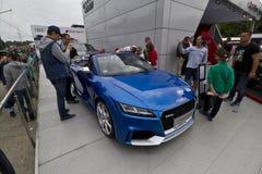 Audi TT RS Roasdster lizenzfreie stockfotos