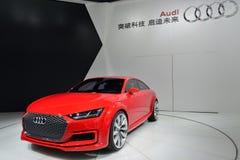 Audi TT sportsback quattro concept car Stock Images