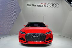 Audi TT sportsback quattro pojęcia samochód fotografia royalty free