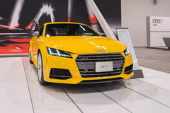 Audi TTS  on display. Royalty Free Stock Image