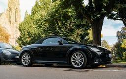 Audi TTT garé dans la rue Image stock