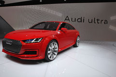Audi ultra motor car Royalty Free Stock Image