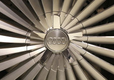 Audi Wheel Fotos de Stock Royalty Free