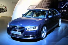 Audi A8 Stock Images