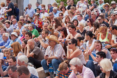 Audience Anticipation Royalty Free Stock Image
