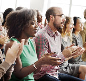 Audience Applaud Clapping Happiness Appreciation Training Concept Stock Photography
