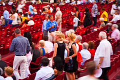 Audience in the Arena di Verona, Italy Royalty Free Stock Image