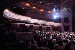 Audience at Ball Crystal Turandot Royalty Free Stock Image