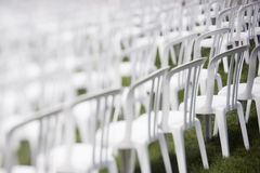 Audience chairs Stock Photography