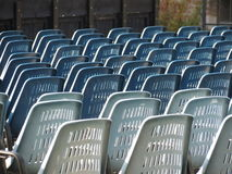 Audience chairs Stock Photos