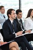 Audience at conference royalty free stock photography