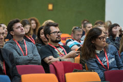 Audience at a conference Stock Photography