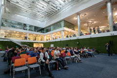 Audience at a conference Royalty Free Stock Photography