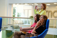 Audience at a conference Stock Photos