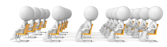 Audience. Royalty Free Stock Photo