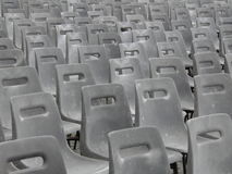 Audience empty seats Royalty Free Stock Image
