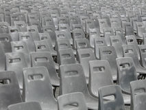 Audience empty seats Royalty Free Stock Images