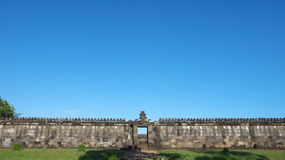 Audience hall of ratu boko palace Stock Photo
