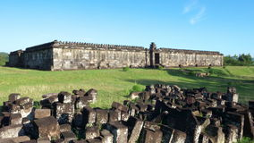 Audience hall of ratu boko palace Stock Images