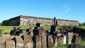 Audience hall of ratu boko palace Royalty Free Stock Image