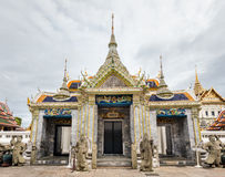 The Audience Hall ,Temple of Emerald Buddha Stock Image