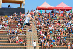 Audience at LKXA Extreme Sports Barcelona Games Royalty Free Stock Photography