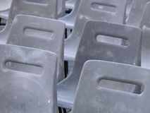 Audience empty seats Stock Image
