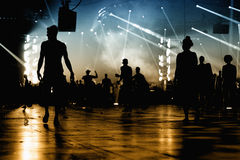 Audience at Sonar Festival Royalty Free Stock Images