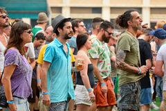 Audience at Sonar Festival Royalty Free Stock Photos