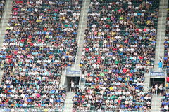 Audience in the stands Royalty Free Stock Photo