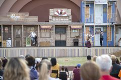Audiences are attract by pet show at Fair Park Stock Images