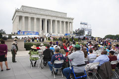 Audiences on the National Mall Stock Images