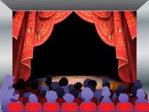 Audiencia Fotografía de archivo