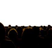 Audiencia Foto de archivo