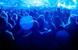 Audiencia del concierto imagen de archivo libre de regalías