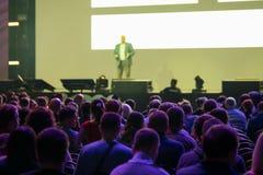 Audiencia en la sala de conferencias Fotos de archivo libres de regalías