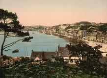 Audierne, Francia Imagenes de archivo