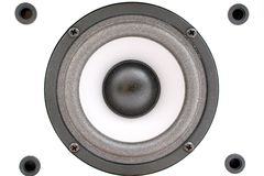 Audio acustica. Priorità bassa 2 Immagini Stock Libere da Diritti