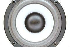 Audio acustica. Una fine in su. 1 immagine stock