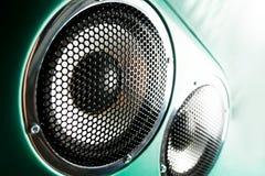 Audio altoparlante Fotografia Stock Libera da Diritti