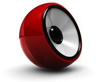 Audio altoparlante Fotografia Stock