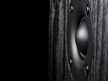 Audio altoparlante ad alta frequenza Immagine Stock Libera da Diritti
