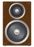 Audio altoparlante bidirezionale Immagini Stock